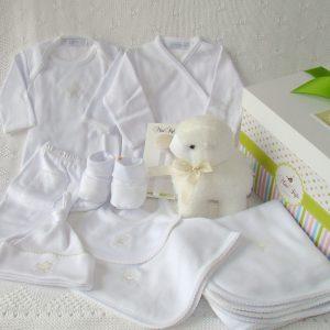 Ajuar Blanco Algodón